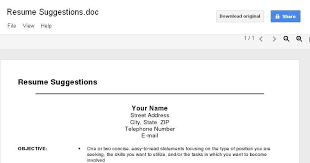 google doc templates resume google resume builder free template