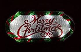 small merry christmas outdoor lighted sign communico consulting