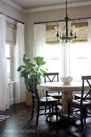 Curtains In The Kitchen Wonderful Woven Wood Shades Bamboo Shades Woods And