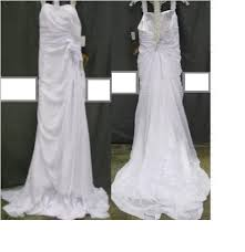 sale wedding dresses lightinthebox white laced bowed traditional wedding dress size 10
