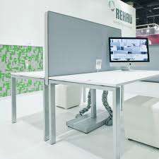 Modern Workstation Desk by Rauworks Workstation Screening