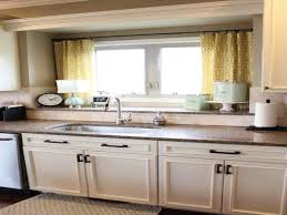 Curtains For Kitchen Window Above Sink Over The Sink Kitchen Window Curtains Caurora Com Just All About