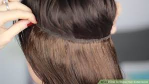 hair extensions in hair 3 ways to make hair extensions wikihow