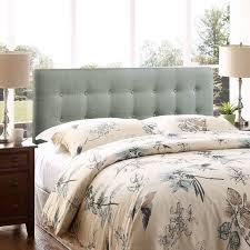 Headboard King Bed Bedrooms Enchanting Cool Grey King Size Headboard Trends