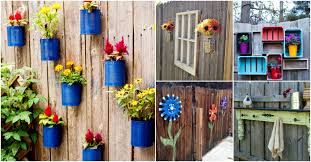 Fence Decorations 30 Eye Popping Fence Decorating Ideas That Will Instantly Dress Up