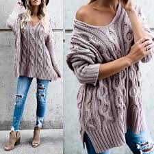 94 off glamvault sweaters mauve chunky cable knit sweater from