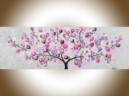 Pink Wall Decor by Pink Blossoms By Qiqigallery 36
