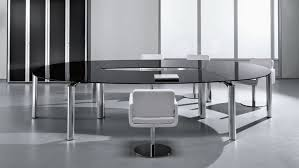 Ikea Conference Table And Chairs Captivating Round Glass Conference Table With Chrome Leg Table And