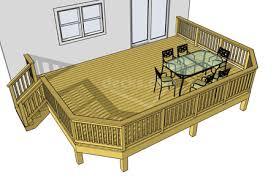 Deckscom Free Plans - Backyard deck designs plans