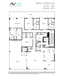 Antilla Floor Plan by Avva Residences Aventura New Condos For Sale Bogatov Realty