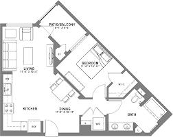 bedroom plan baker block sobeca apartments for rent floor plans