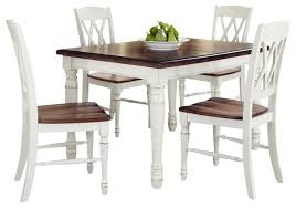 Dining Room Furniture Styles Monarch 5 Piece Dining Table Set Traditional Dining Sets By