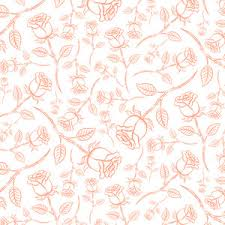 vintage rose pattern seamless vector rose wallpaper royalty free