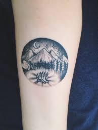 56 best tattoo images on pinterest camping tattoo nature