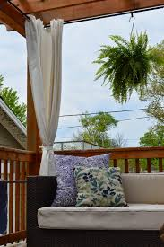 Outdoor Curtain Fabric by Inspired Living Creating An Outdoor Room