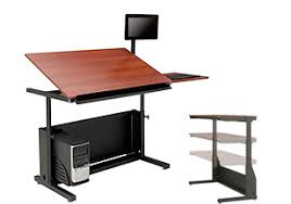 Corner Drafting Table Impressive Computer Tables And Desks 23 Office Desk Furniture