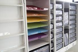acrylic paper shelving 6 pack u2013 the original scrapbox