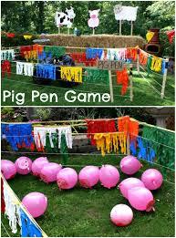 we heart parties blog backyard barn party games