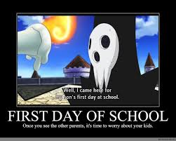 Meme School - first day of school anime meme com
