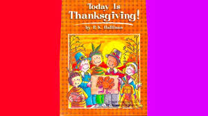 today is thanksgiving book preview learn to read