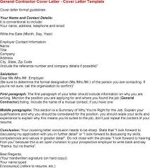 sample general contractor cover letter military contractor cover