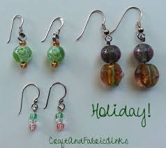 home made earrings easy bead earrings