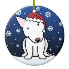 bull terrier ornaments keepsake ornaments zazzle