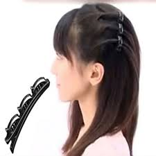 bump it hair online shop 2 pcs pack black hairpins hair women hairclip