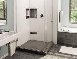 drain shower pan 36 x 36 center tileable drain right