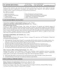 Retired Police Officer Resume Retired Police Officer Resume Objective Sample Job And Resume