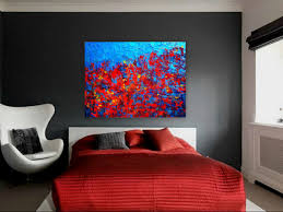painting for bedroom contemporary abstract painting for modern spaces autumn at night