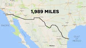 Google Maps Tijuana Google Map Us Mexico Border Our Version Of The 1821 Border With
