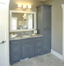 Bathroom Vanity Storage Tower Bathroom Vanity With Tower Bathroom Storage Tower 1 Bathroom
