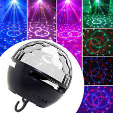 light up portable speaker bluetooth party speaker multicolor led light up show disco ball
