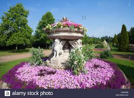 england london regents park avenue gardens flower display