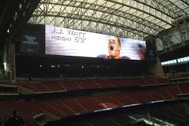 Houston Texans Stadium by Houston Texans Prepare The Widest Display In Sports For Home Debut