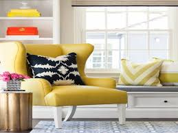 best yellow living room chairs for your interior decor home with