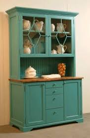 Kitchen Hutch Cabinet Farmhouse Dining Room With Painted Hutch Blogger Home Projects