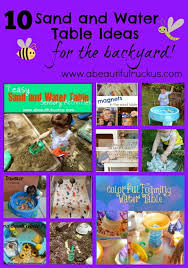 Sand Table Ideas A Beautiful Ruckus 10 Sand And Water Table Ideas For The Backyard