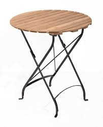 round wooden folding table collapsible iron garden tables with acacia wood folding metal