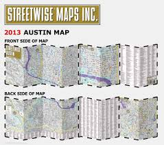City Of Austin Map by Streetwise Austin Map Laminated City Center Street Map Of Austin