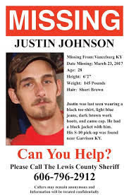 missing person poster missing person poster released for justin