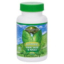 youngevity 90 for life ultimate hair skin u0026 nails formula