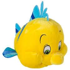 disney mermaid plush cuddle pillow flounder target