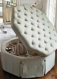 round dressing room ottoman the perfect addition to your dressing room the serena shoe ottoman