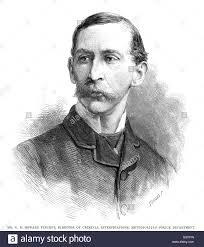 sir charles edward howard vincent director of criminal stock photo