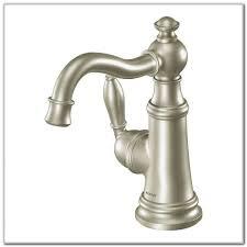 Moen Kitchen Faucets Brushed Nickel Moen Arbor Kitchen Faucet Brushed Nickel Sinks And Faucets