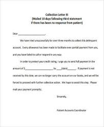 collection letter disputed debt collection letter collection