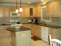 beige light brown kitchen wall paint interior entrancing l shape