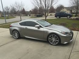 2014 lexus is350 atomic silver my atomic silver with wheels and a drop page 2 clublexus